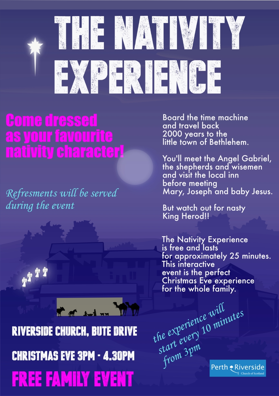 Nativity experience poster